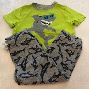 Gymboree Boys Shark Top/Pants Set Size 3T